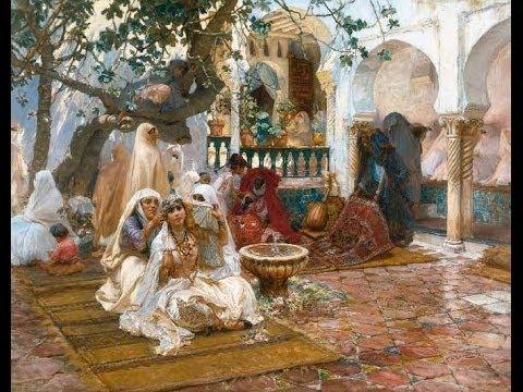Frederick Arthur Bridgman, un orientaliste qui a peint les scènes de vie d'une époque non lointaine de notre pays.. La femme Algérienne est représentée dans toute sa splendeur.